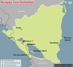 America Central Map by Travel Maps Of Central America U2013 Runaway Travellers