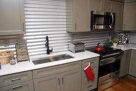 easy backsplash ideas for kitchen creative and inexpensive backsplash ideas corrugated metal