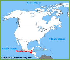 america map guatemala guatemala location on the america map
