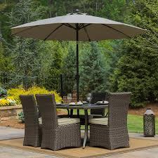 9 u0027 wind resistant airflow market umbrella by seasons sentry