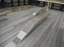 skaters paradise benches floating out of wood or concrete bench
