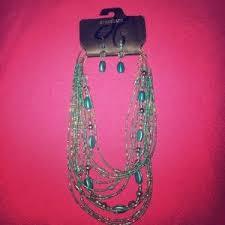 Dress Barn Earrings 83 Off Dress Barn Jewelry Dress Barn Sliver Colored Bracelet