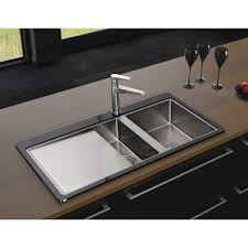 Glass Kitchen Sink Kitchen Solution  Kitchen Design  Kitchen Ideas - Black glass kitchen sink