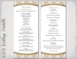 cheap wedding ceremony programs wedding ceremony program template groun breaking photos rustic