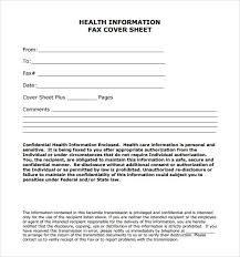 confidential fax cover sheets fax cover letter 8 free word