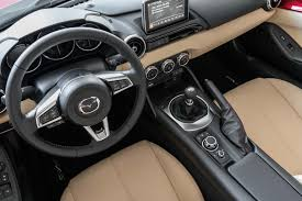 mazda roadster interior 2017 mazda mx 5 miata rf club first test review