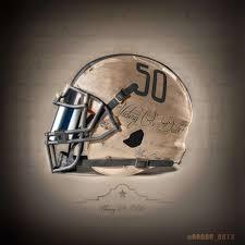 utsa grad u0027s gritty u0027victory or death u0027 inspired football helmet