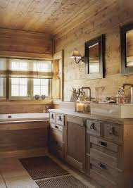 rustic cabin bathroom ideas the bathroom is in the same rustic style as the rest of the cabin