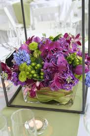 purple wedding decorations purple and green wedding centerpieces