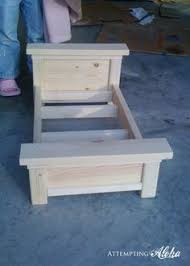 Free Patterns For Doll Bunk Beds by Ana White Build A Doll Bunk Beds For American Doll And 18