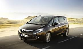 opel unveiled the new zafira tourer with photos details and video
