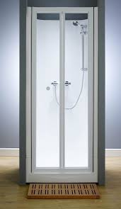 kubex eclipse leak proof shower cubicle with bi fold door 800mm x