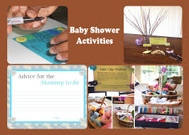 fun baby shower activities