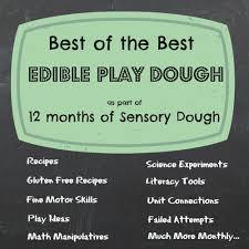 edible playdough the best recipe experiment