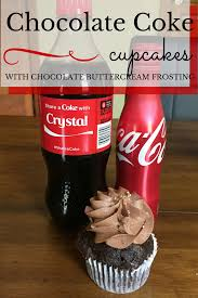 Coca Cola Can Six Flags Share A Chocolate Coke Cupcake Not Entirely Perfect