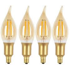 e12 candelabra base led light bulbs led chandelier light bulbs modern globe electric 40w equivalent soft
