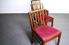 Dining Chair Set Of 4 Vibrant Set Of 4 Mid Century Danish Modern Kc Mobler Walnut Dining