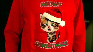 caroling kitty ugly christmas sweater digital dudz christmas 2013