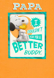 peanuts best pals s day card with magnet greeting cards