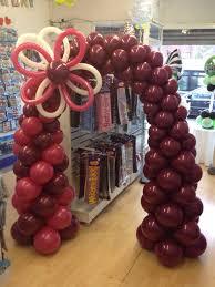 patriotic balloon arch bodacious balloons pinterest balloon