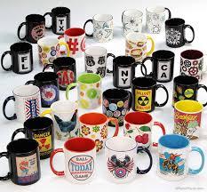 design coffee mug retro planet original coffee mug designs