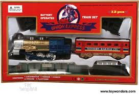 union express set 9 battery operated 2003 wholesale toys