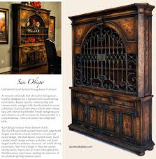 old world dining room furniture grand obispo hutch