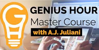 genius hour master course blend education