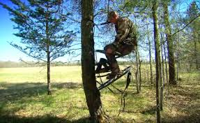 tree stand concealment bowhunter
