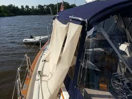 Sailboat Sun Awnings Make Your Own Seamless Sailor Sun Shade Solution Using Phifertex