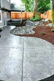 Backyard Cement Ideas Cement Patio Ideas Fabulous Backyard Cement Patio Ideas Best About
