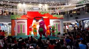 Barneyintros Youtube by Barney And Friends Live At Onekm Mall I Love You You Love Me