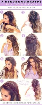 7 cute easy headband braid hairstyles to try in 2016 tutorial