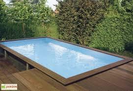 piscine hors sol piscine en bois mon aménagement jardin