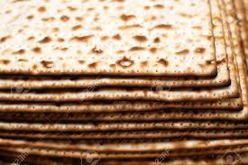 matzo unleavened bread stack of matzot matzah unleavened bread symbol of