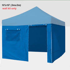 Awning Side Walls Ez Up Tent Sidewalls Ebay