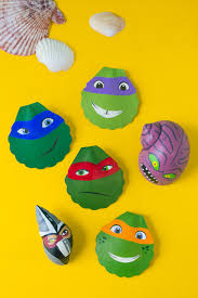tmnt painted shells nickelodeon parents