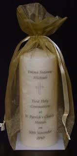 communion candles personalised holy communion candle gift