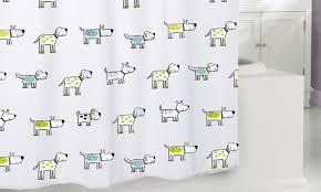 Anti Ligature Shower Curtain Dog Print Shower Curtain Shower Curtain Rod