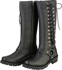 black motorcycle riding boots 149 95 z1r womens savage waterproof leather motorcycle 1030542
