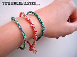 make bracelet from rope images Diy rope friendship bracelet bracelet cordon color clones jpg