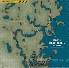 picket fences magazines locations map fallout 4