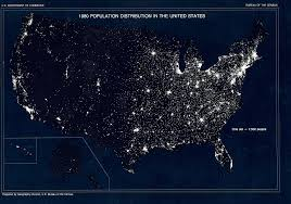 population density map thematic maps geography u s census bureau