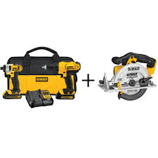 dewalt 20 volt max lithium ion cordless combo kit 2 tool with