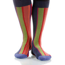 martini stripe vertical stripe sunset men u0027s or women u0027s supima cotton socks red