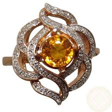 colored gem rings images Yellow sapphire diamond ring fancy design flashopal jpg