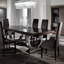 italian dining room sets comely large modern italian veneered extendable dining table