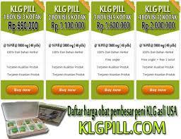 harga obat klg pill