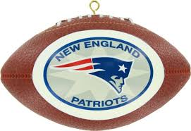 new england patriots replica football ornament the christmas loft