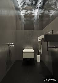 Bachelor Pad Bathroom A Dark And Calming Bachelor Bad With Natural Wood And Concrete